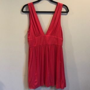 New Forever 21 Pink Dress Sz L